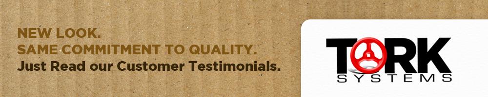 Tork Systems Customer Testimonials