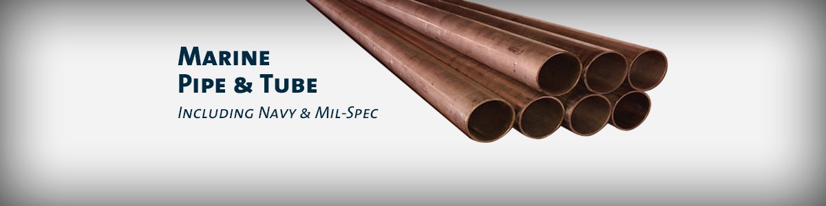 Marine Pipe and Tube, Navy and Mil-Spec, Copper Nickel