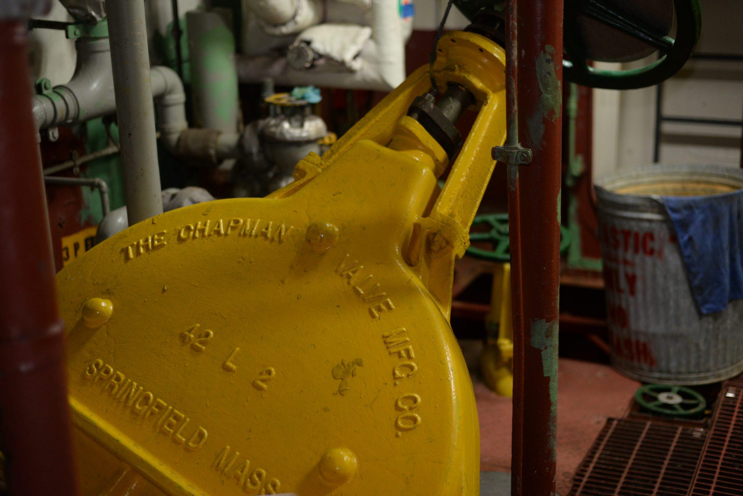 42 Inch Navy Gate Valve Bronze Chapman Valve Manufacturing