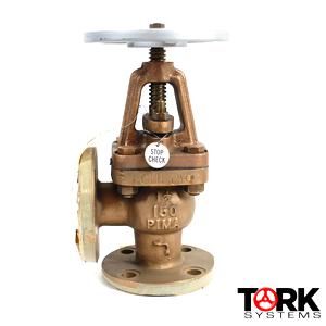 Pima Valve, Inc. Bronze Flanged Angle Valve, Stop Check, 150 lb, Monel Trim B1421E; what is a globe valve?