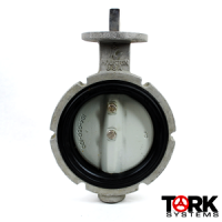 Keystone-Aluminum Wafer Butterfly Valve Round, Vent, 200 lb, Aluminum Trim 805-1749102
