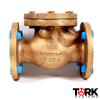 Pima Valve Bronze Flanged check valve swing check bronze trim B1620E