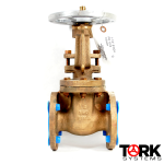 Pima Valve B102A - Commercial Bronze Flanged Gate Valve, OS&Y, Bronze Trim