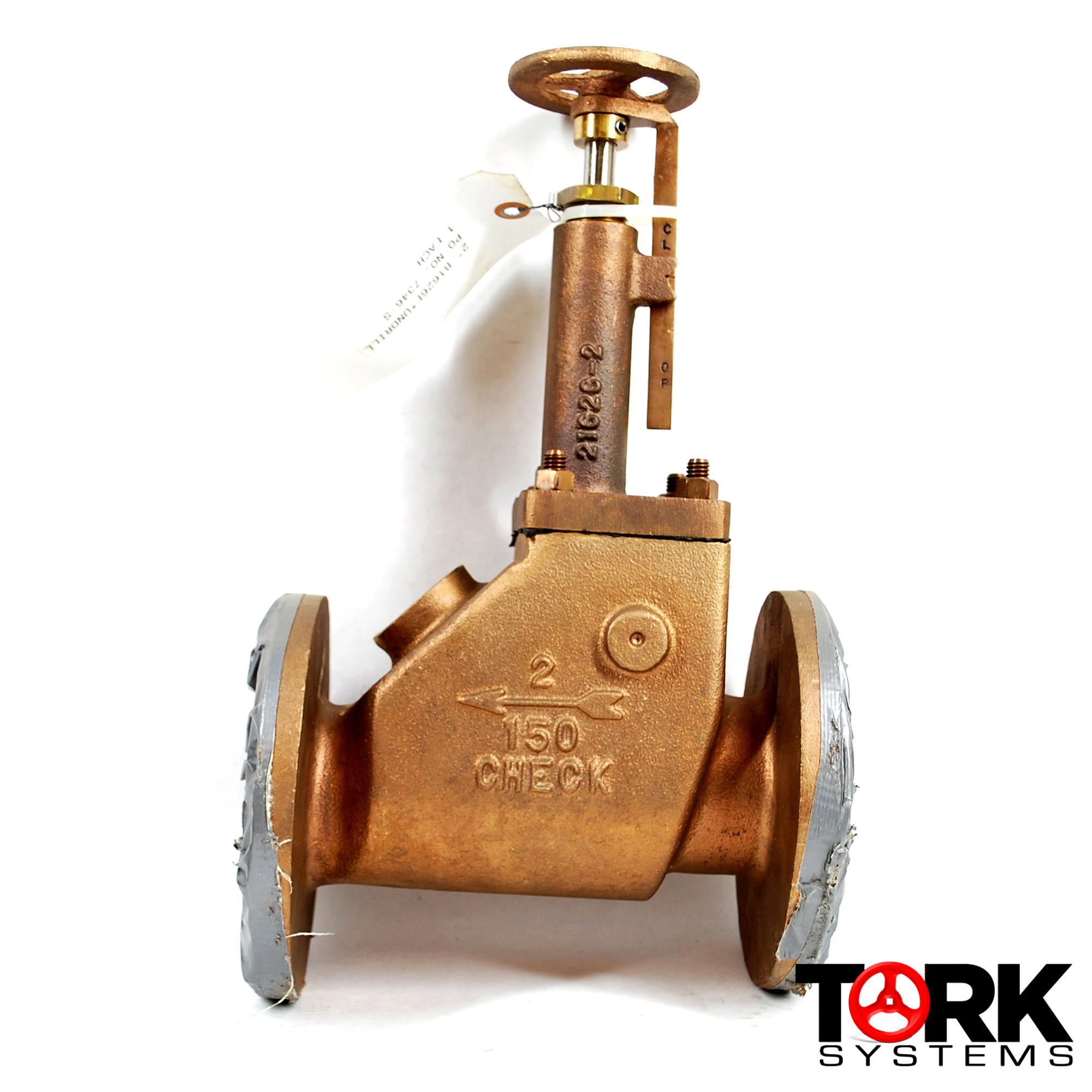 Pima Valve Bronze flanged scupper valve gag control B1621E