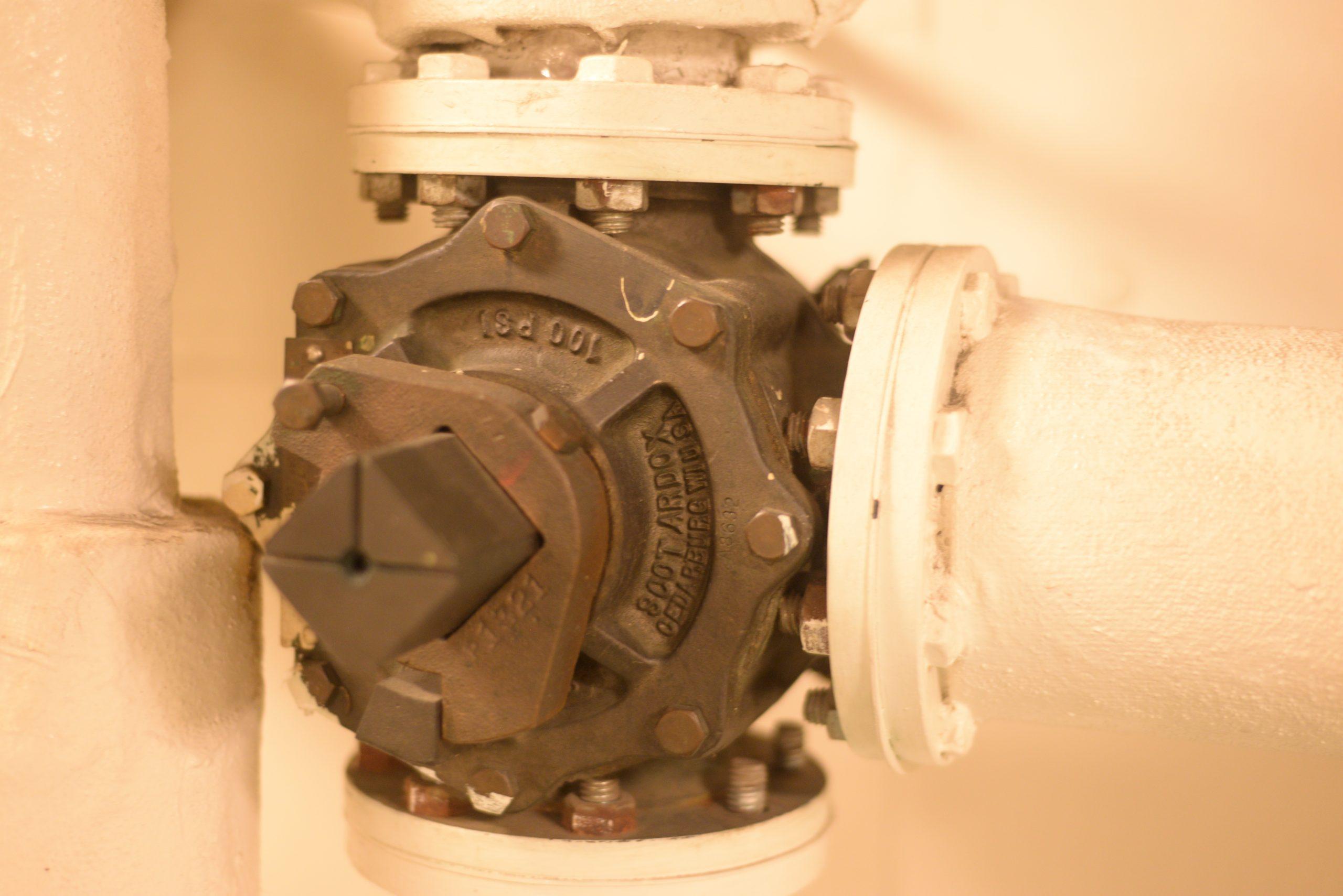 Scot Ardox Mil-V-24509 3 Way 3 Port Plug Valve