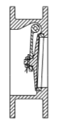 Wafer Valve Diagram; what is a wafer check?