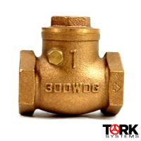 Bronze-threaded-lift-check-300-LB