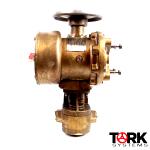 NU-TORQUE-bronze-Hydraulic-Valve-Actuator-MIL-P-18111A