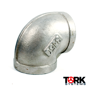304/304L stainless steel 90 degree elbow 150 lb