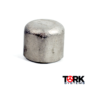 Stainless Steel Cap 304/304L threaded 1000 lb
