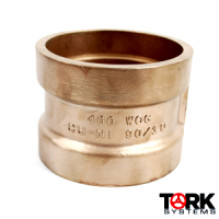 WOG 90/10 copper nickel coupling 400 lb