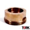 400 lb WOG 70/30 Copper Nickel Thread Piece