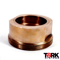 400 lb WOG 70/30 Copper Nickel Thread Piece