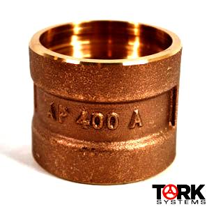 brass sil braze coupling WOG 400 lb