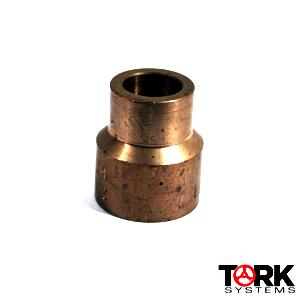 70/30 Copper Nickel Adapter Threaded by Socket Weld 3000 lb