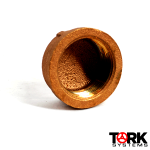 Bronze Cap Threaded 400 lb