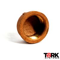 Bronze Cap Threaded 400 lb
