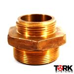 Threaded x Threaded Bronze Hose Adapter