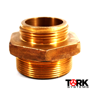 Threaded x Threaded Bronze Hose Adapter