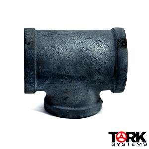 Threaded Galvanized Malleable Iron Tee Pipe Fitting