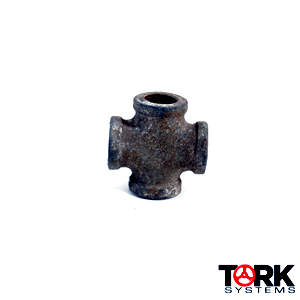 Iron Cross Pipe Fitting Threaded
