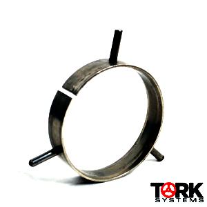 Standard steel backing ring