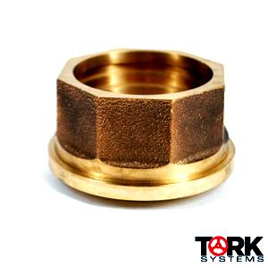 Bronze Tail Piece Sil-Braze Union 400 lb